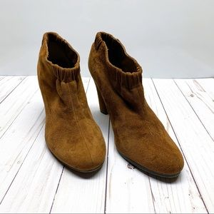 Sam Edelman Suede Ankle Booties with Heel